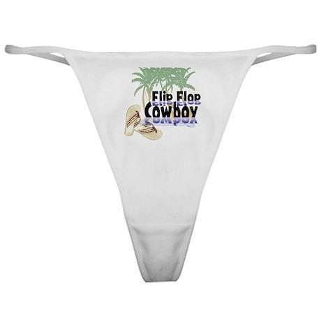 Flip Flop Cowboy Classic Thong