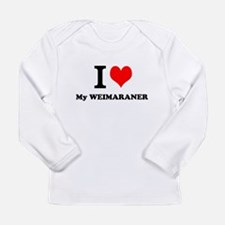 I Love My WEIMARANER Long Sleeve T-Shirt