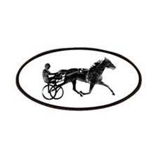 Cute Horse and cart Patch