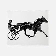 Cute Horse sports Throw Blanket