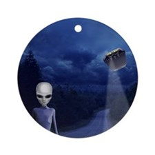 Alien Nightwatch Ornament (Round)