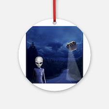Alien Nightwatch Ornament (Round)