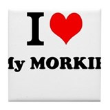 Morkie Drink Coasters