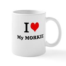 I Love My MORKIE Mugs