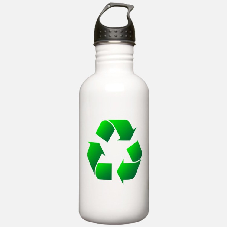 recycle logo Water Bottle