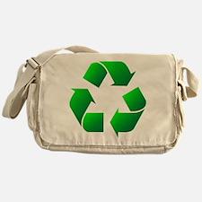 recycle logo Messenger Bag