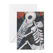 Unique Chicano art Greeting Card