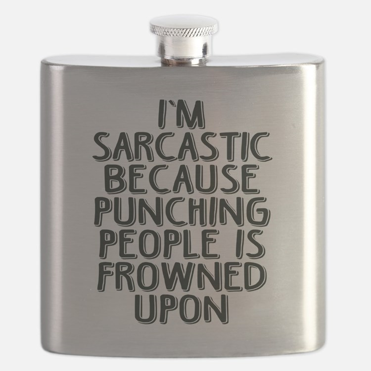 Sarcasm vs Punching Flask