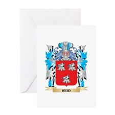 Reid Coat of Arms - Family Crest Greeting Cards