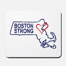 Boston Strong Heart Mousepad