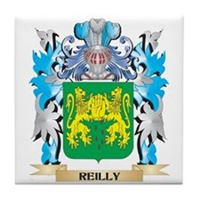 Reilly Coat of Arms - Family Crest Tile Coaster