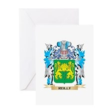 Reilly Coat of Arms - Family Crest Greeting Cards