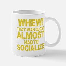 Antisocial Introvert Humor Mug