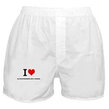 I Love My STAFFORDSHIRE BULL TERRIER Boxer Shorts