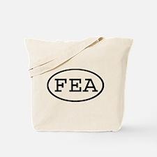 FEA Oval Tote Bag