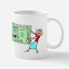 Stretching Dollar Mugs