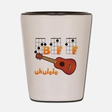 Funny Ukulele player Shot Glass