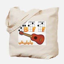 Cute Ukulele player Tote Bag