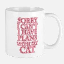 Plans With My Cat Mugs