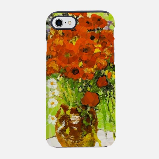 Van Gogh Red Poppies Daisies iPhone 7 Tough Case