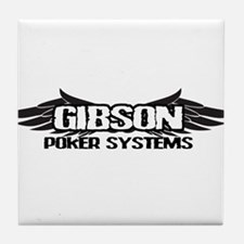 GIBSONPOKERSYSTEMS.png Tile Coaster