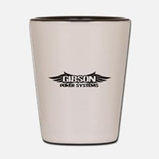 GIBSONPOKERSYSTEMS.png Shot Glass