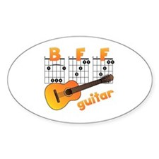 Guitar BFF Decal