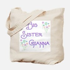 Big Sister Gianna Tote Bag