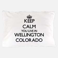 Keep calm you live in Wellington Color Pillow Case
