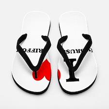 I Love My BRUSSELS GRIFFON Flip Flops