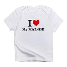 I Love My MAL-SHI Infant T-Shirt