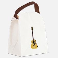 Acoustic Guitar Canvas Lunch Bag