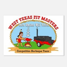 West Texas Pit Masters Postcards (Package of 8)
