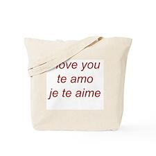 iloveyou Tote Bag