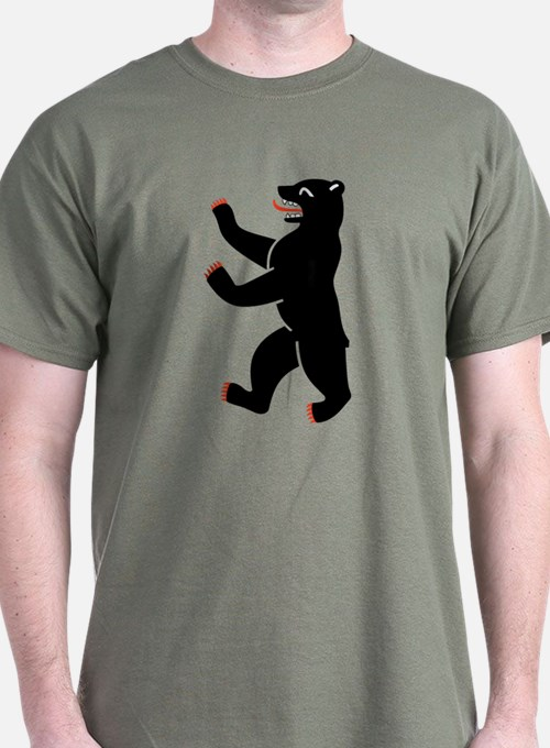 berlin bear t shirts shirts tees custom berlin bear. Black Bedroom Furniture Sets. Home Design Ideas