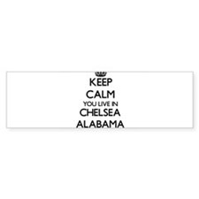 Keep calm you live in Chelsea Alaba Bumper Bumper Sticker