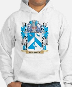 Renshaw Coat of Arms - Family Cr Hoodie