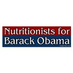 Nutritionists for Barack Obama