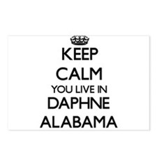 Keep calm you live in Dap Postcards (Package of 8)