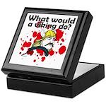 What Would a Viking Do Keepsake Box
