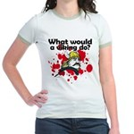 What Would a Viking Do Jr. Ringer T-Shirt