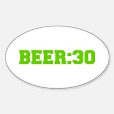 Beer 30-Fre l green Decal