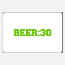 Beer 30-Fre l green Banner