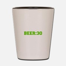 Beer 30-Fre l green Shot Glass