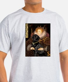 The Queen's Black Lab T-Shirt