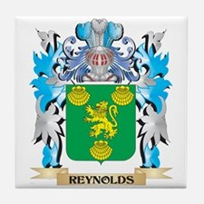Reynolds Coat of Arms - Family Crest Tile Coaster