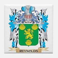 Reynolds Coat of Arms - Family Crest Tile Coaster