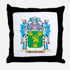 Reynolds Coat of Arms - Family Crest Throw Pillow