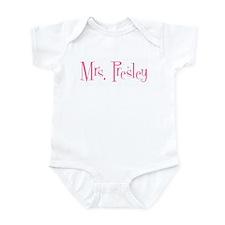 Mrs. Presley  Infant Bodysuit