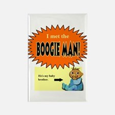 Boogie Man Rectangle Magnet